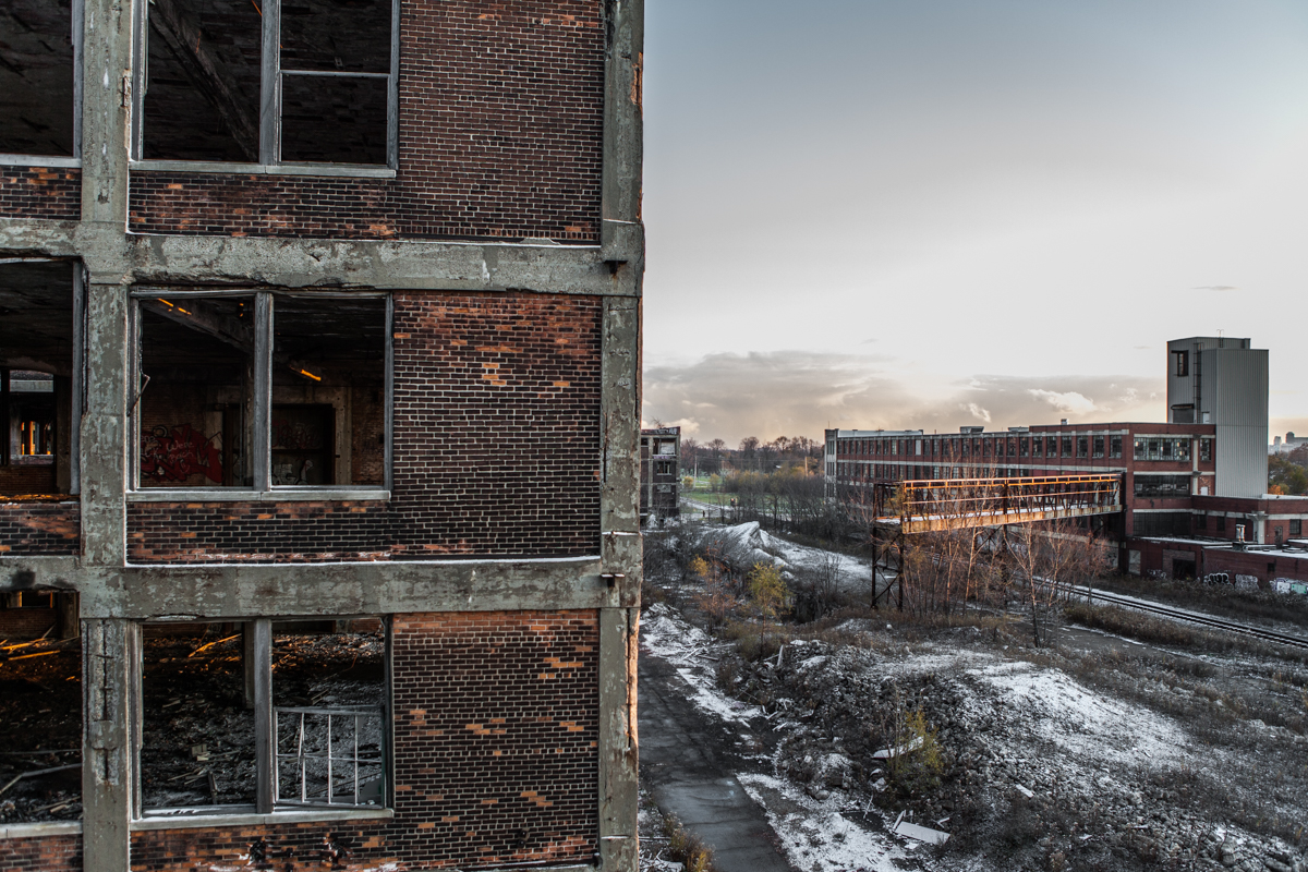 Inside The Packard Plant