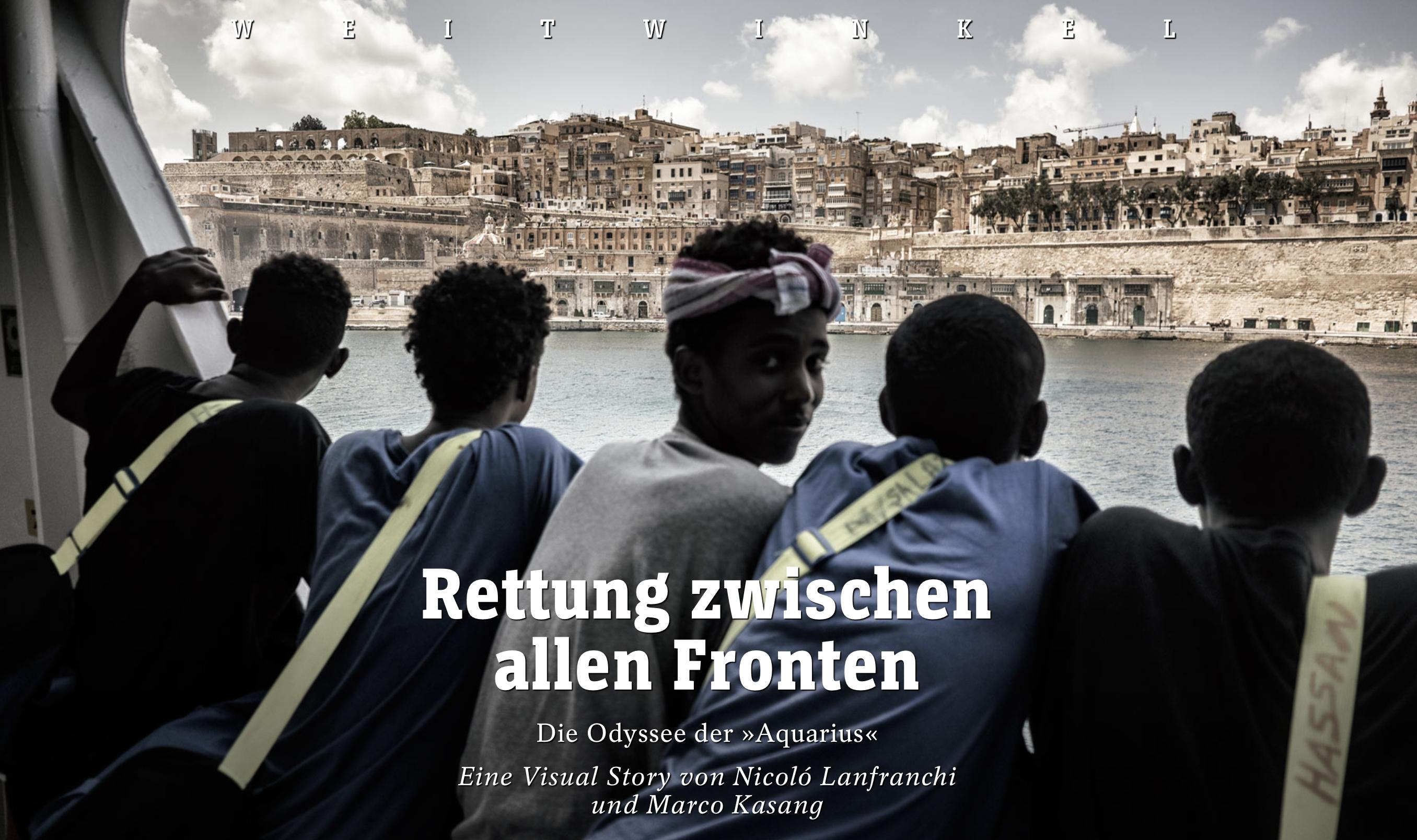 cover multimedia Der Spiegel Aquarius - Nicoló Lanfranchi